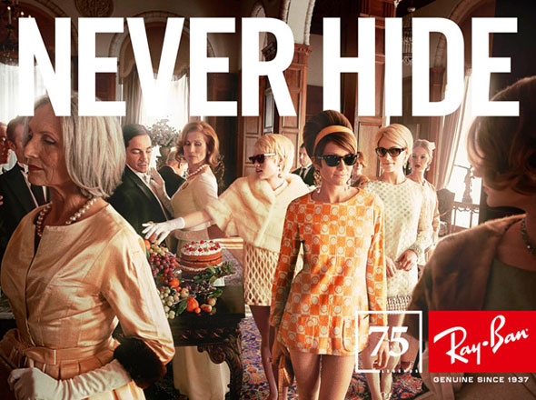 ray ban legend sunglasses lunettes soleil 2012 1 Ray Ban Legends Eté 2012 : Les Stars des Lunettes de Soleil