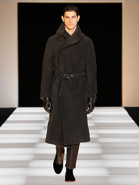 , SWIMS x Armani : Chaussures Hommes Hiver 2012 / 2013
