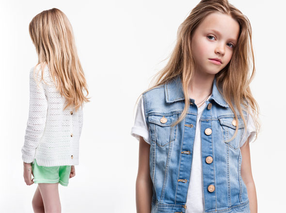 Zara Enfants : Lookbook Mai 2012