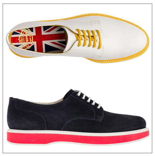 , Chaussures Church Stratford : Edition Limitee JO de Londres 2012