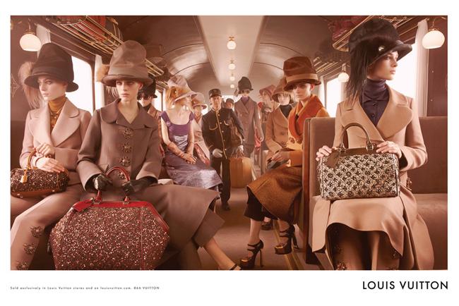 , Louis Vuitton Campagne Hiver 2012 2013 Voyage de Mode