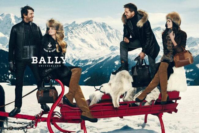 , Campagne Bally Hiver 2012 2013 : Visite au Chalet d'Adrien