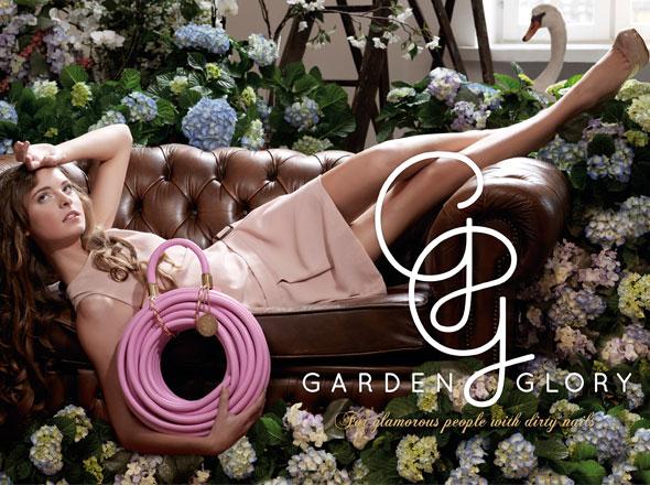 , Garden Glory : Tuyau d'Arrosage Chic et Glamour