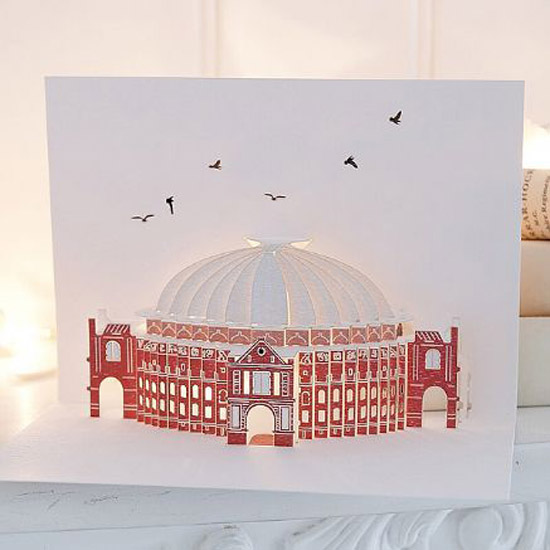 london pop up card cartes 2 Architecturales Cartes Pop Up de Londres