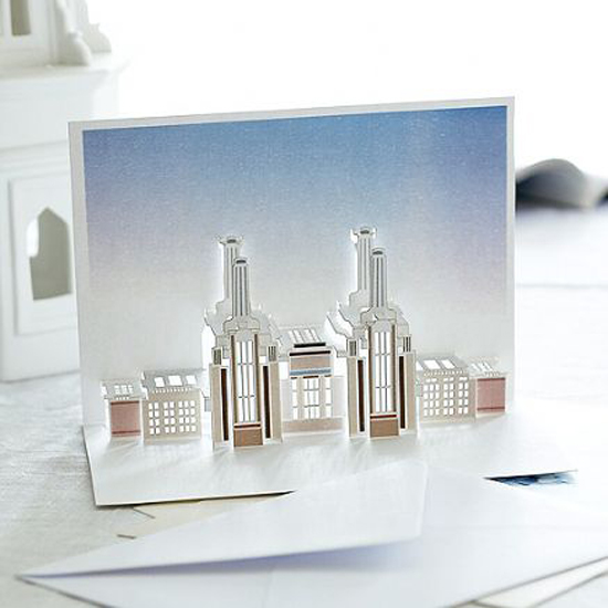 london pop up card cartes 3 Architecturales Cartes Pop Up de Londres