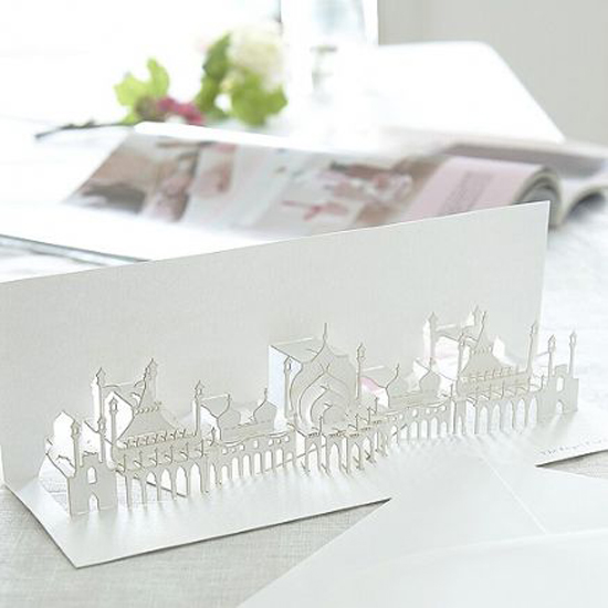 london pop up card cartes 4 Architecturales Cartes Pop Up de Londres