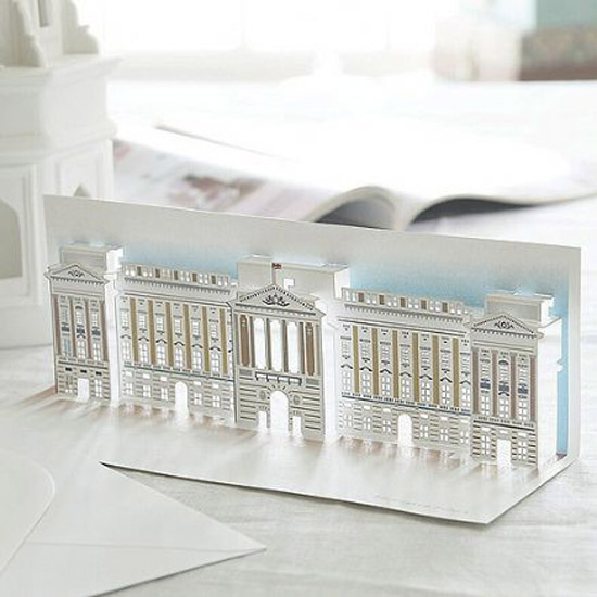 london pop up card cartes 5 Architecturales Cartes Pop Up de Londres
