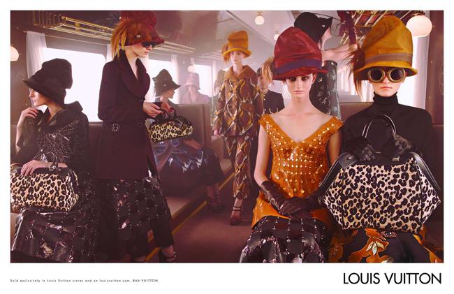 , Louis Vuitton Hiver 2012 2013 : Apercu Pub