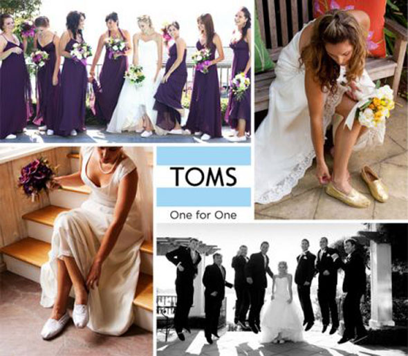 , Chaussures Toms One for One : Collection Mariage