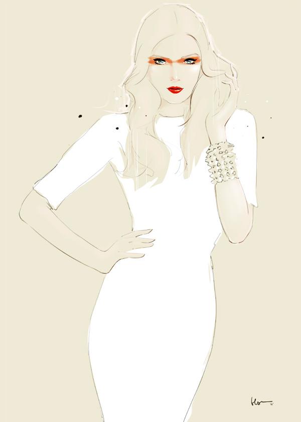 , Floyd Grey : Illustrations Vectorielles de Mode