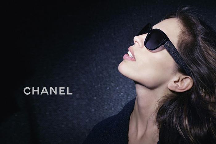 , Lunettes Chanel Hiver 2012 2013 avec Maiwenn Le Besco