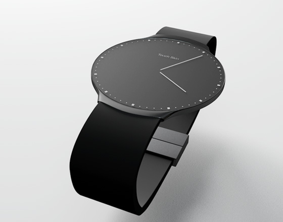 , Montre OLED Tactile Touch Skin Watch par Niels Astrup