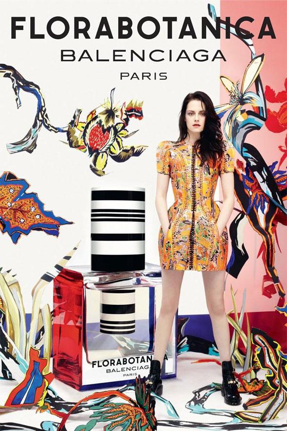 , Parfum Balenciaga Florabotanica avec Kristen Stewart
