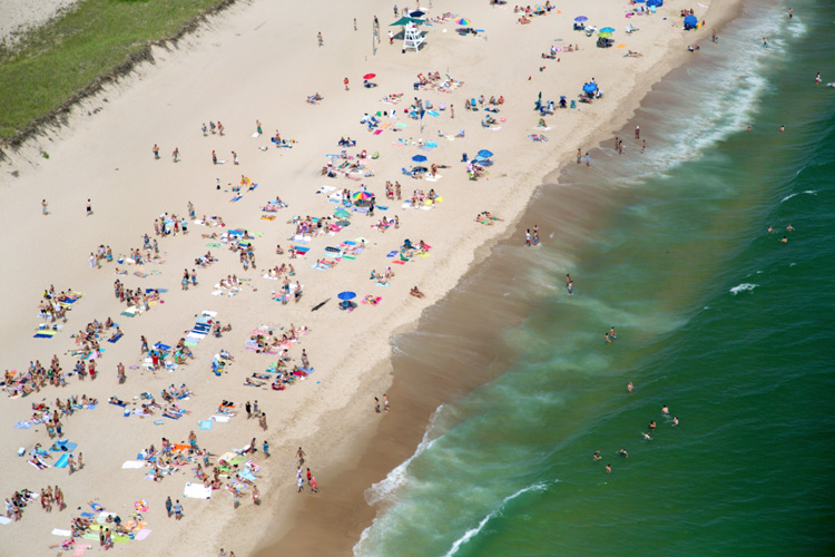 gray malin plages, Gray Malin Photographie : Les Plus Célèbres Plages Vues du Ciel