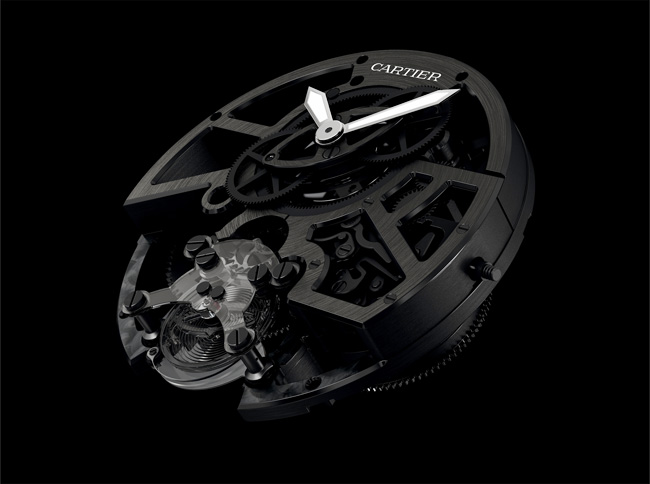, Concept Watch Cartier ID Two : Transparence et Performance