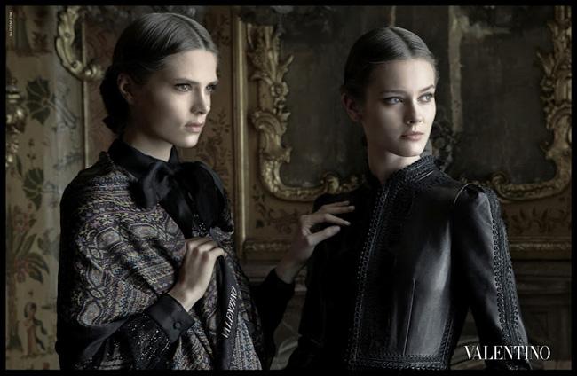 , Valentino Hiver 2012 2013 : Une Campagne Romantique