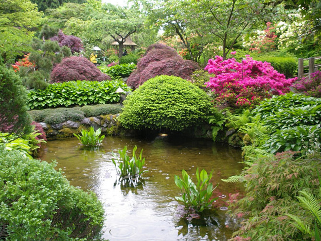 Butchart Gardens Canada 07 Butchart Gardens : Luxuriant Jardin au Canada