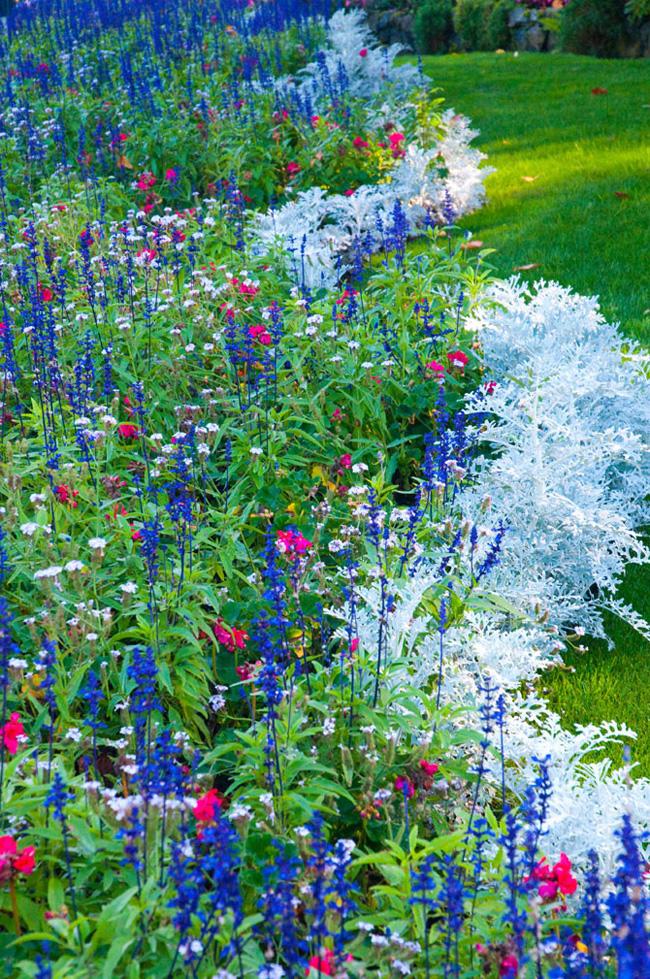 , Butchart Gardens : Luxuriant Jardin au Canada