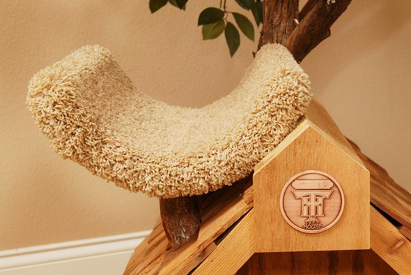 Pet Tree Houses Arbre Chat 3 Pet Tree Houses : Maisons Arbres en Bois pour Chats