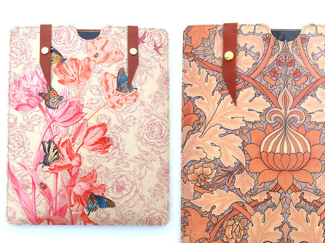 , Tovi Corrie Protections iPhone iPad en Cuir Artisanales