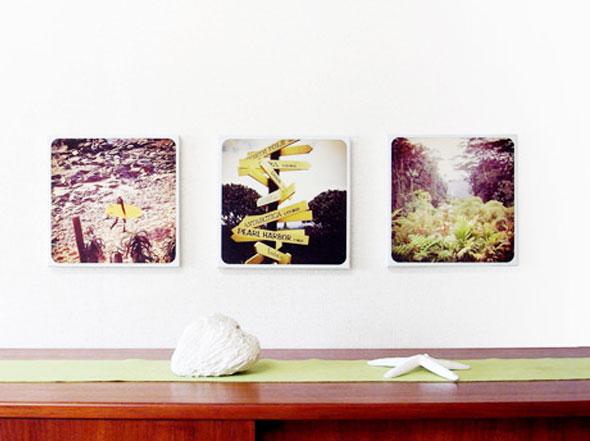 , Canvasgram, InstaCanvas, CanvasPop : Photos Instagram sur Toile de Jute