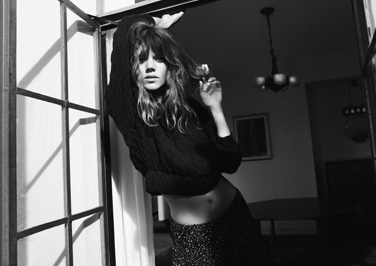 , Zara Hiver 2012 2013 Campagne avec Freja Beha