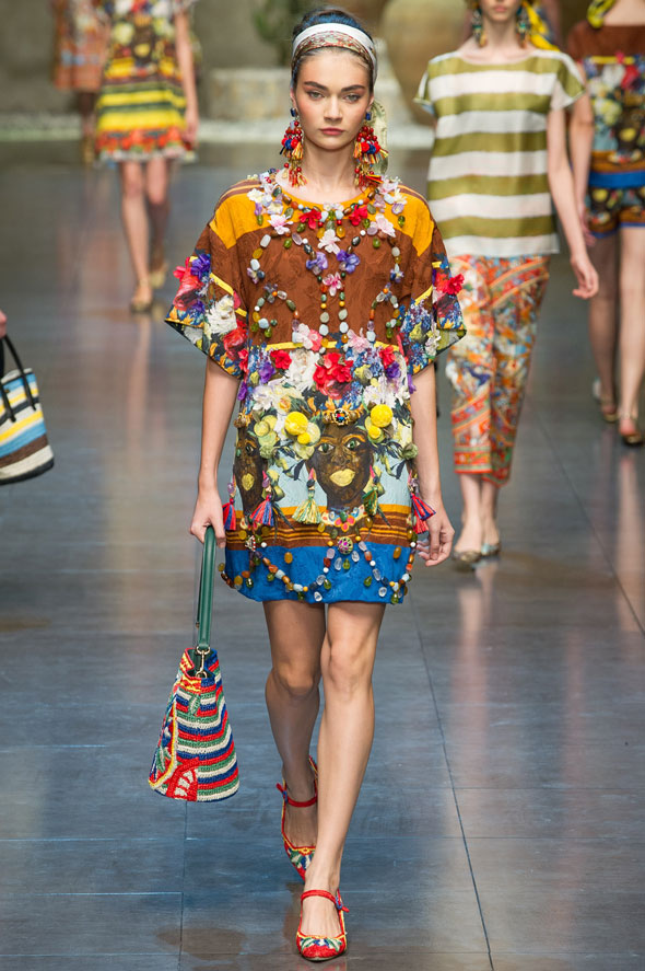, Dolce & Gabbana Printemps Ete 2013 Défilé