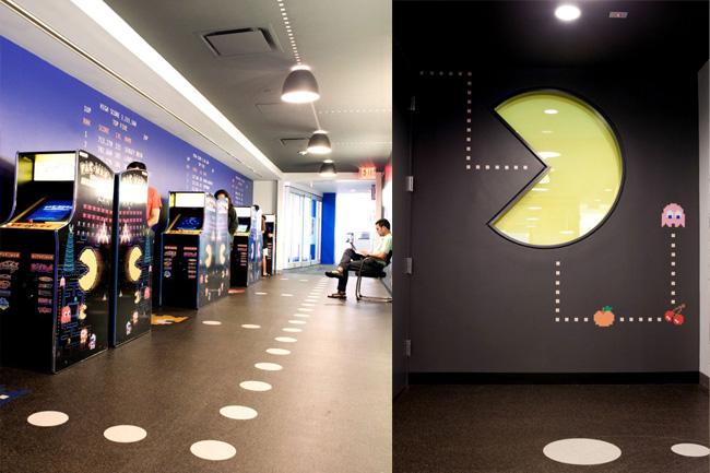 , Bureaux de Google à New York City : Decoration Tendance Eclectique