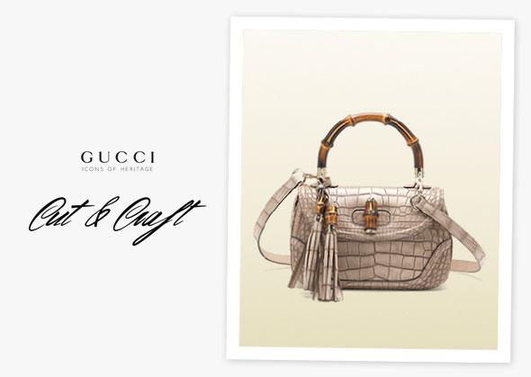 , DIY Icon Cut & Craft : Créer Votre Sac Gucci en Papier