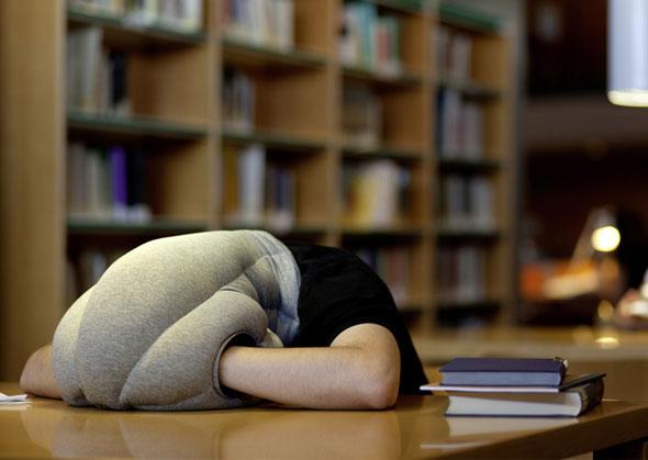 3 Coussin Autruche Ostrich Pillow Coussin Ostrich Pillow pour Dormir Confortablement au Bureau
