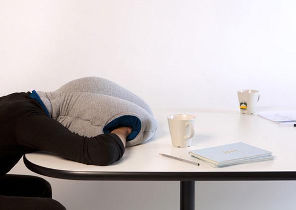 4 Coussin Autruche Ostrich Pillow Coussin Ostrich Pillow pour Dormir Confortablement au Bureau