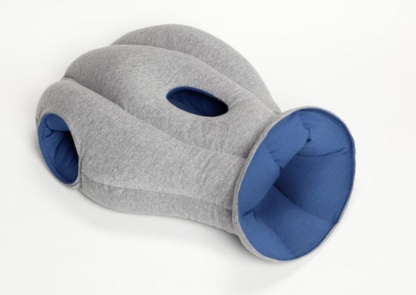 Coussin Ostrich Pillow pour Dormir Confortablement au Bureau