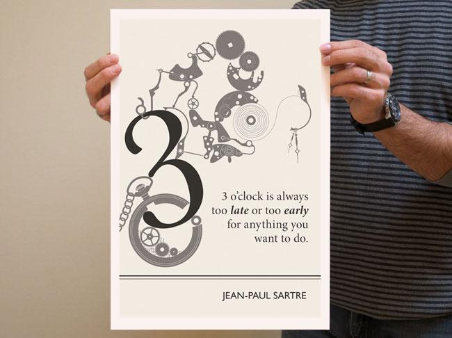 illustrations par Evan Robertson : Citations Littéraires