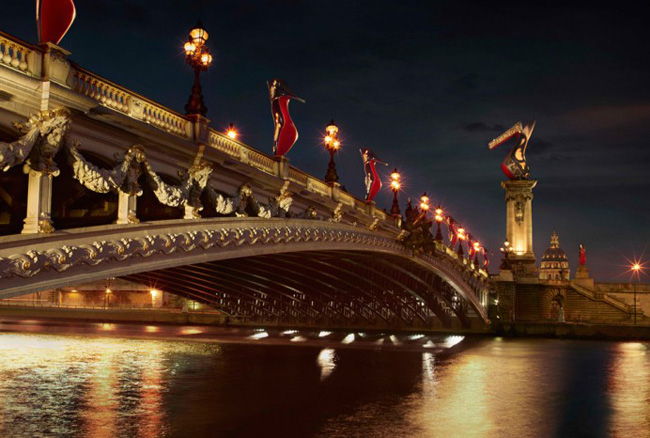 , Christian Louboutin Hiver 2012 2013 Retour à Paris