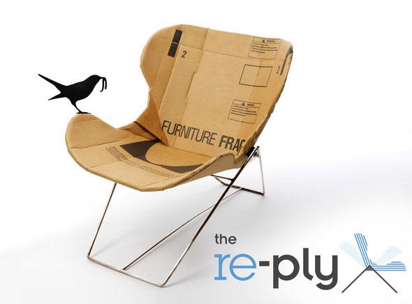 Re Ply Chair Par Dan Goldstein