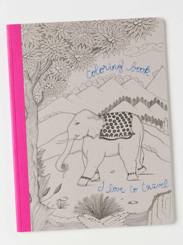 , Florence par Rebecca Rebouché : Livre à Colorier Féerique