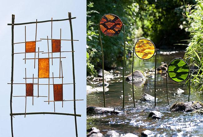 , Land Art par Richard Shilling : Sculpture et Installation Nature