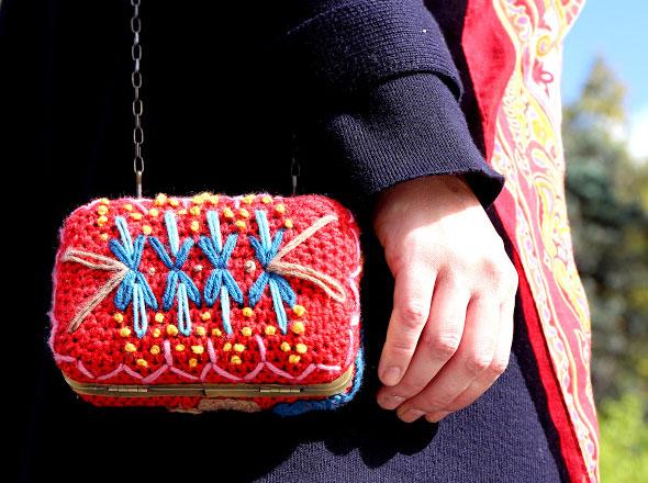 2 Lanusa Pochettes Crochet Lanusa : Adorables Pochettes en Crochet et en Fleur