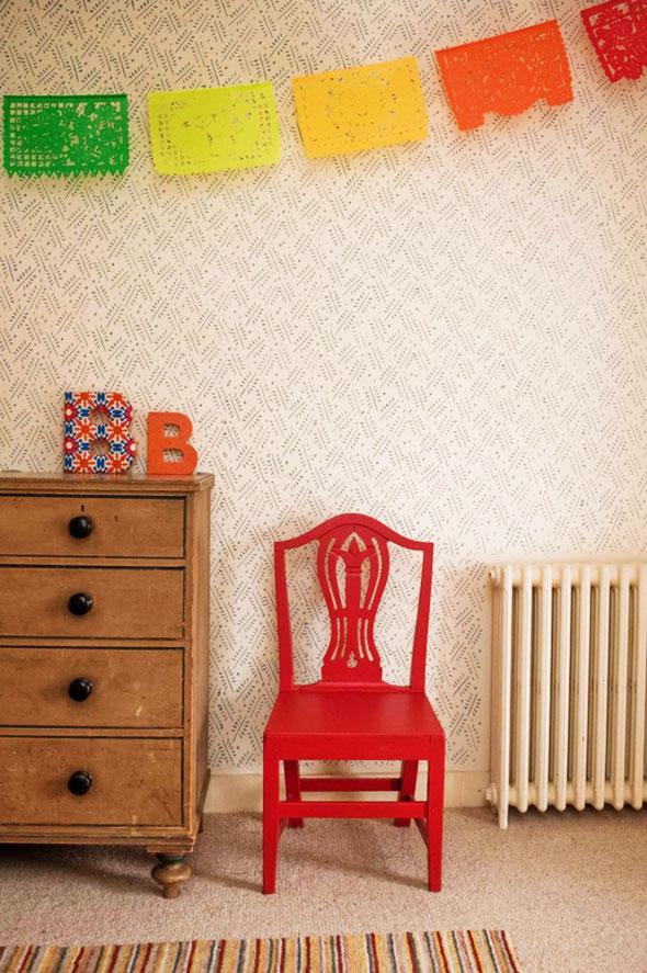 rouleaux peinture motifs, Rouleaux de Peinture avec Motifs Décoratifs par Painted House