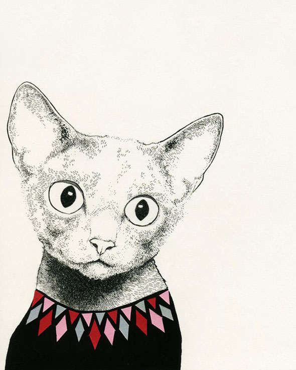 , Catherine Campbell : Illustrations aux Motifs Arlequin