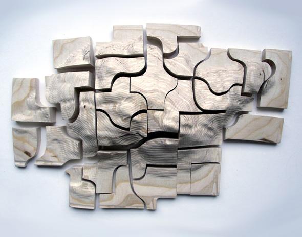 , Perspectives Puzzles par Jacqueline Tollington : Du Relief pour les Non-Voyants