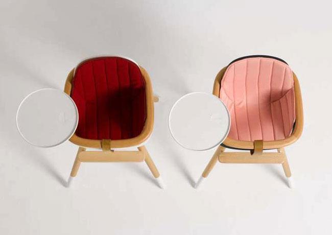 , Ovo de Micuna : Chaise Haute Design pour Bébé