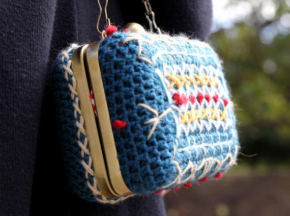 4 Lanusa Pochettes Crochet Lanusa : Adorables Pochettes en Crochet et en Fleur