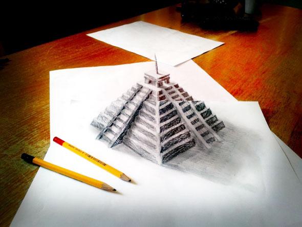 4 Ramon Bruin 3D Dessin Drawing Art - Ramon Bruin : Dessins au Crayon en 3D Hyper Réalistes