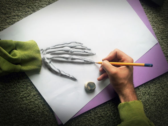 5 Ramon Bruin 3D Dessin Drawing Art - Ramon Bruin : Dessins au Crayon en 3D Hyper Réalistes