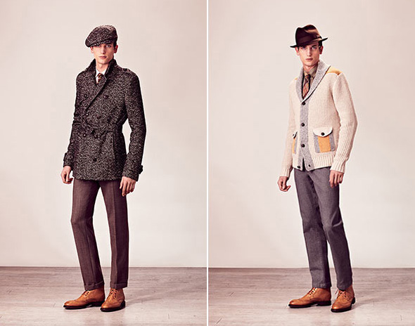 , Paul & Joe Hiver 2012 2013 : Lookbook Homme