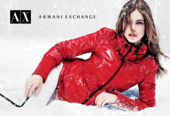 1 AX Armani Exchange FW Hiver 2012 2013 Campagne AX Armani Exchange Hiver 2012 2013
