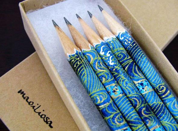 , Maoiliosa : Crayons en Papier Washi