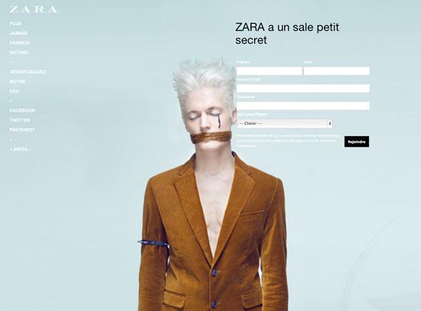 1 Greenpeace Zara Greenpeace contre Zara, C&A, Mango, Levis, M&S : Cette Mode qui Empoisonne la Vie