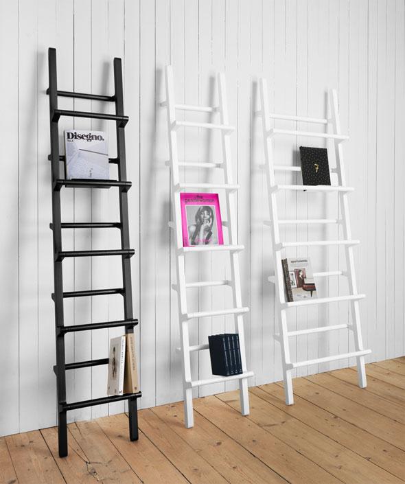 One Nordic Verso Shelf par Mikko Halonen : Une Échelle Bibliothèque